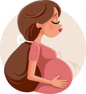 妊婦のイラスト